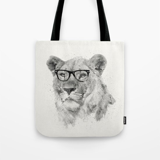 Wild Hipster Tote Bag
