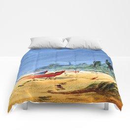 Puerto Rico Maunabo Beach Comforters