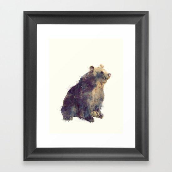 Bear // Nova Framed Art Print