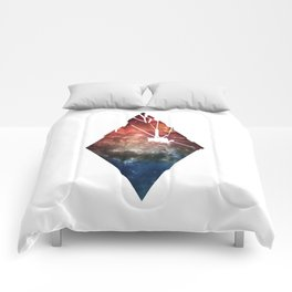 Shattered Space Comforters