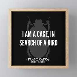 3 |  Franz Kafka Quotes | 190517 Framed Mini Art Print