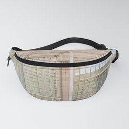 All in Shades of White -  Chicago Architecture Photography Fanny Pack