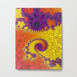 Royal Hippy - Fractal Art  Metal Print