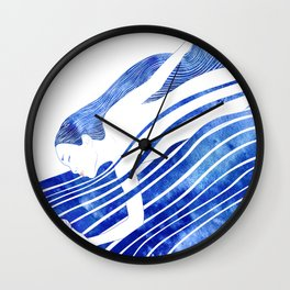 Water Nymph LXV Wall Clock