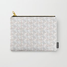 Vintage Bike Pattern Carry-All Pouch