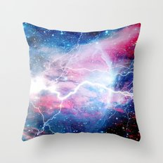 Starred Lightning Throw Pillow