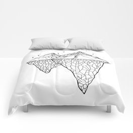 Crystal Mountains Comforters