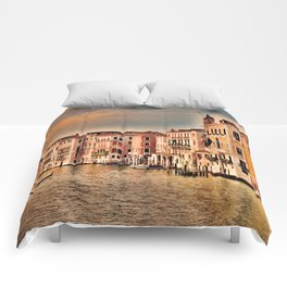 Grand Canal of Venice Comforters