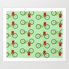 Christmas Wrapping Art Print