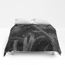 Chalk & Charcoal Royal Enfield #1 Comforters