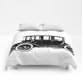 Old car 2 Comforters