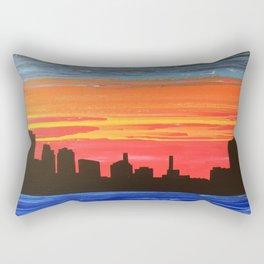 Toledo Skyline Rectangular Pillow