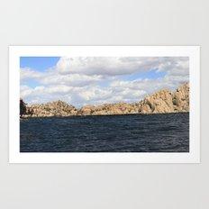 Waters Edge Art Print