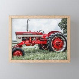 International Harvester 240 Side View Framed Mini Art Print