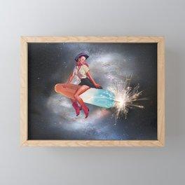 Rocket Pop Framed Mini Art Print