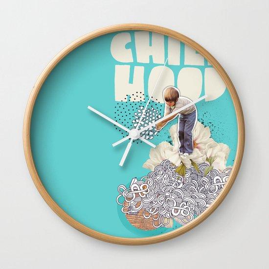 Childhood Wall Clock