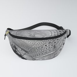 Fragmented Fractal Memories and Shattered Glass Fanny Pack