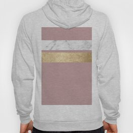 Mauve in the night marble Hoody
