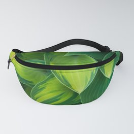 Hosta Camouflage Fanny Pack