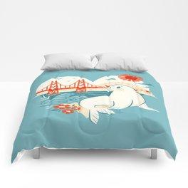 I Heart San Francisco Comforters