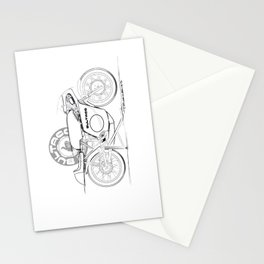 Bultaco Vintage Motorcycle Stationery Cards