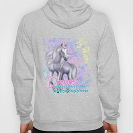 Pegasus -  Dreams are Where the Magic Happens Greek Mythological Horse T-Shirt Hoody