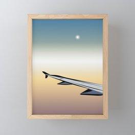 Airplane Views #1 Framed Mini Art Print