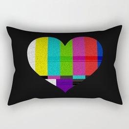 Heart TV Rectangular Pillow
