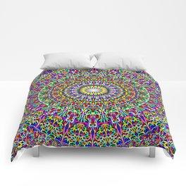 Floral Bohemian Magic Mandala Comforters