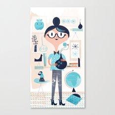 Domestic Life Canvas Print