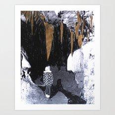 Cave Drawing VIII Art Print