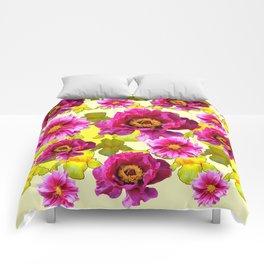 SPRING FLOWERS ART Comforters