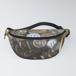 Button collection Fanny Pack