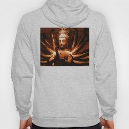 durga, indian goddess Hoody
