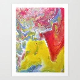 Abstract Acrylic Artwork Art Print