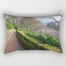 Road By The River Dee Rectangular Pillow