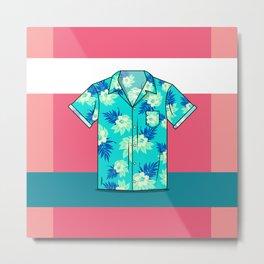 Hawaiian Shirt Metal Print