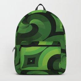 GREEN WALLPAPER Pop Art Backpack
