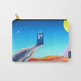 tardis space at starry night Carry-All Pouch