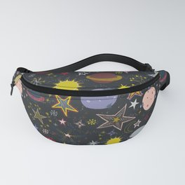 look up, the stars! Fanny Pack