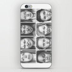 cry, don't cry iPhone & iPod Skin