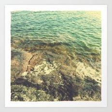 Lake Vättern - Swedish summer Art Print