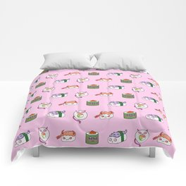 SUSHI PATTERN Comforters