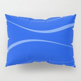Abstract blue. Pillow Sham