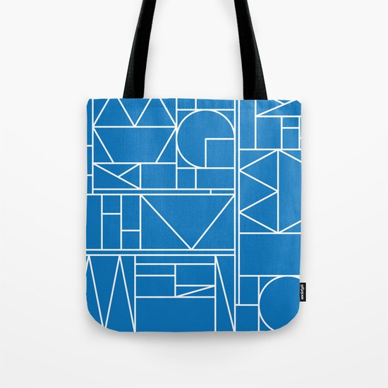 Kaku Blue 2 Tote Bag