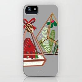 Geometric Terrarium iPhone Case