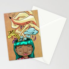 Overflowing thoughts  Stationery Cards