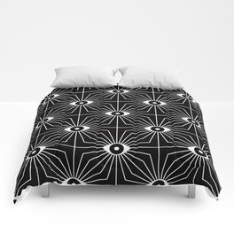 ELECTRIC EYES Comforters