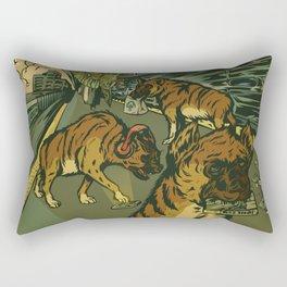 The AM Commute Rectangular Pillow