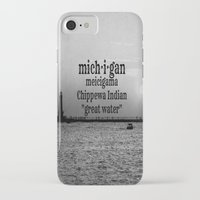 michigan iPhone & iPod Cases featuring Michigan by KimberosePhotography